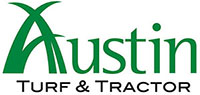 Austin Turf and Tractor Retina Logo